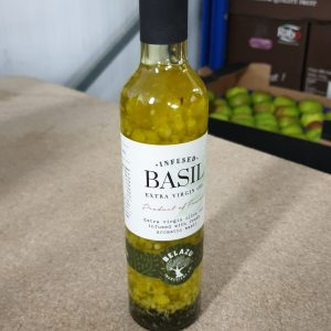 Basil Infused Extra Virgin Olive Oil - 250ml