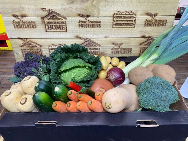 Fresh Veg Box wc 15th March