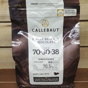 Callebaut Dark Chocolate Chips (callets) 70.5% Min Cocoa - 2.5kg