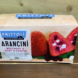 Frittoli's Arancini - Beetroot and Goat's Cheese - 300g
