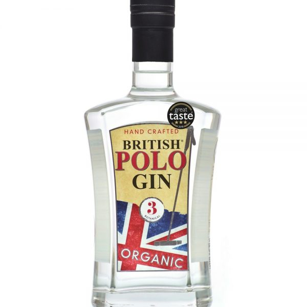 British Polo Gin No.3 Botanical 70 cl + 4 x 220ml Fever Tonic Waters