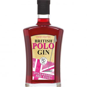 British Polo Gin No.4 Strawberry & Rose + 4 x 220ml Fever Tonic Waters