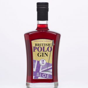British Polo Gin No.2 Sloe 70 cl + 4 x Fever Tonic Waters