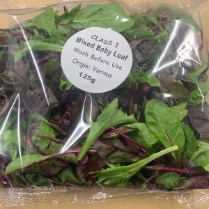 Mixed Baby Leaf Salad - 125gm
