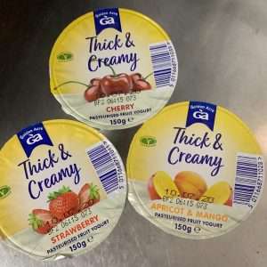 Thick and Creamy Yoghurts - 3 Pack