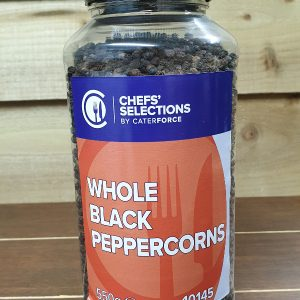 Whole Black Peppercorms - 550g