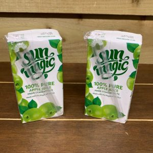 100% Pure Apple Juice (From Concentrate) - 2 x 200ml