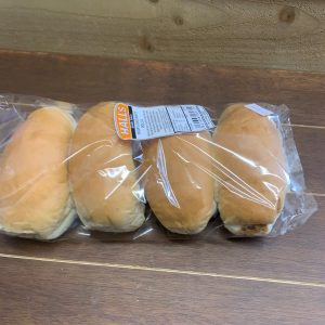 Long White Rolls - 4 Pack