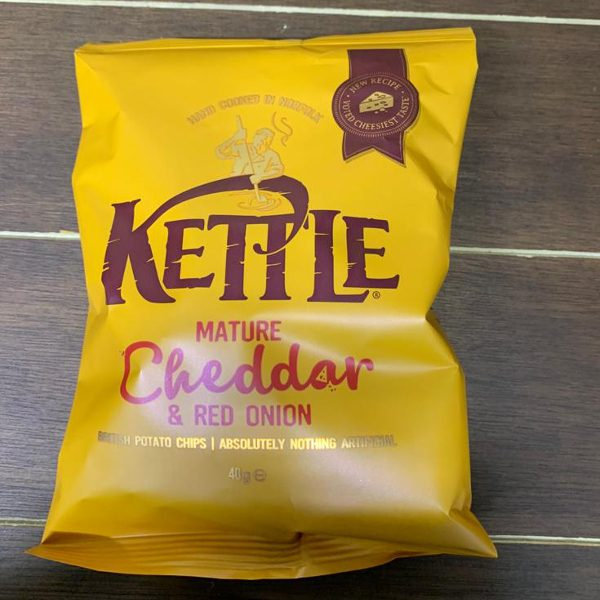 Mature Cheddar & Red Onion