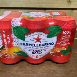 San Pellegrino Blood Orange - 6 x 330ml