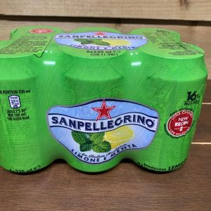 San Pellegrino Lemon and Mint - 6 x 330ml