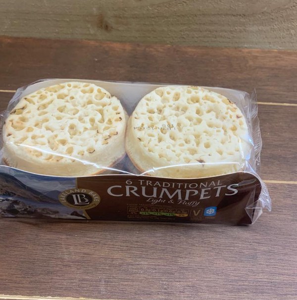 Traditional Crumpets x 6