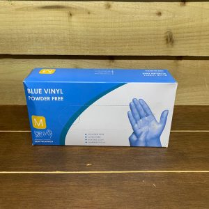 Powder Free Vinyl Gloves - Medium