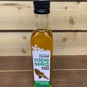 Stainswick Farm Basil Rapseed Oil