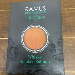 Whisky Oak Smoked Salmon